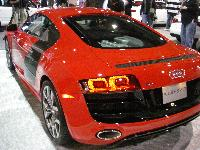 Audi R8 V-10 on display at Washington Auto Show in Washington, D.C., on February 4, 2009.