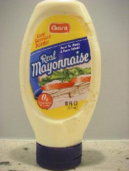 Isn't this what May 5 is all about? Just back from Mexico and feeling a little under the weather with swine flu? Nothing like some mayo to soothe your upset tummy. (THE TOUGH TIMES copyright photo)